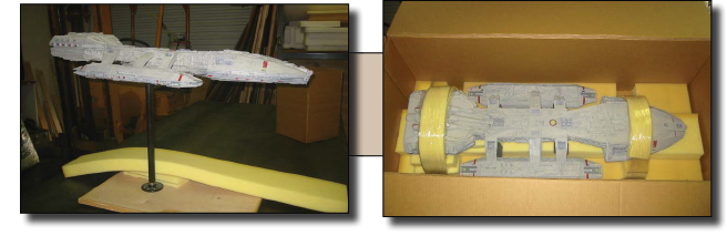 Custom Packing and Shipping